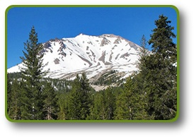 Mount Lassen in Lassen Volcanic National Park